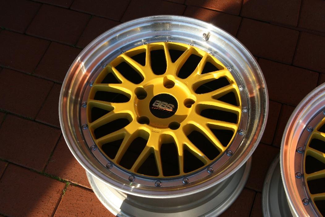 Fs Original Bbs Lm Wheels 5x130 9x18 Et51 11x18 Et55 Porsche